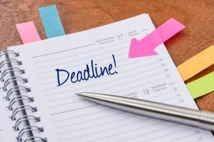 deadline reminders, vantage 24